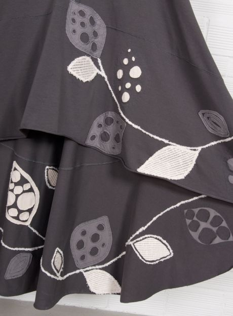 Dress 'Imaginative Trees' - RECYCLING Collection | Organic Cotton fashion