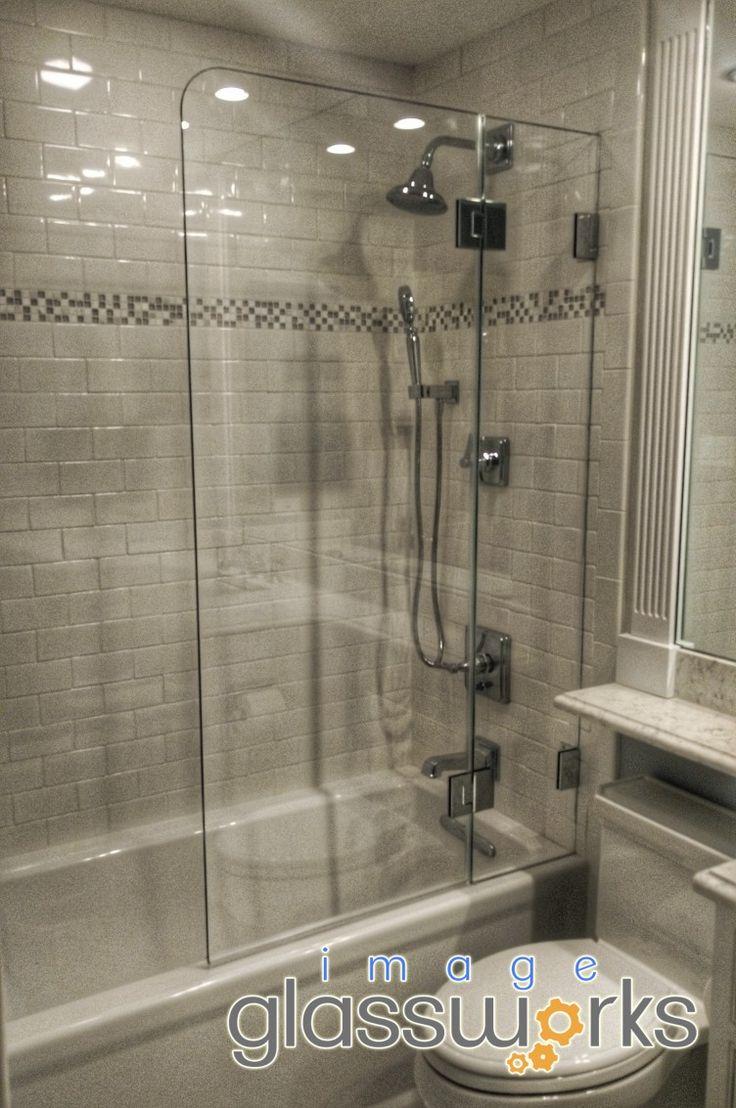 127 best Frameless Shower Doors - Swinging / Hinged images on ...
