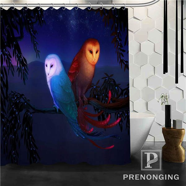 Bird Shower Curtain Fabric Waterproof Mildewproof Modern bathtub Bathroom Curtain @140 Multi Size S-171216*05-23. Yesterday's price: US $37.99 (32.29 EUR). Today's price: US $19.75 (16.21 EUR). Discount: 48%.