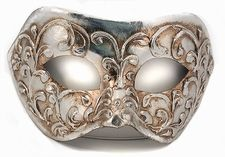 Carnival Silver Mask - Silver Mask $79