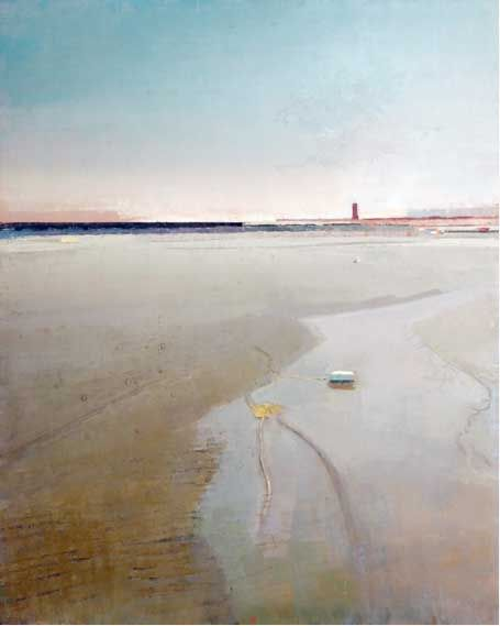 John Evans On the Beach : Painting Perceptions