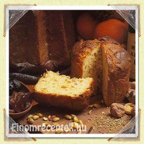 Panettone, avagy milánói karácsonyi kalács recept | Finom receptek - Az online receptkönyv