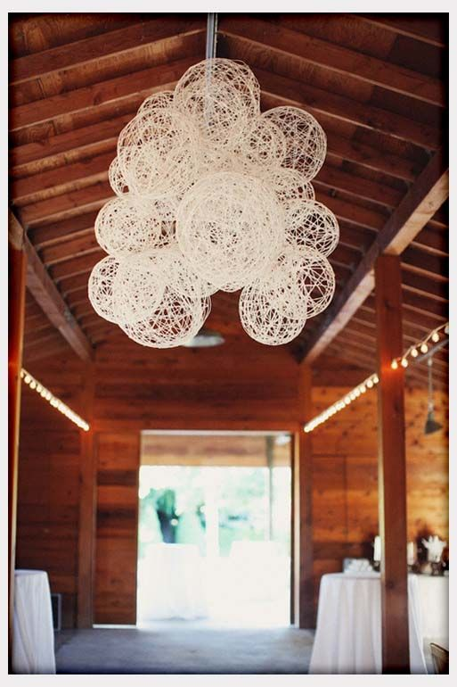 Decorations, String Laterns For Rustic Wedding Decor: DIY Wedding Decoration Ideas for Unique ...