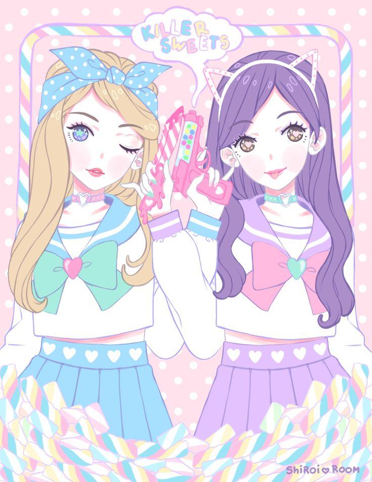 anime kawaii pastel: 17 Best Images About Kawaii Anime Art On Pinterest