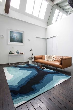 Mineral, part of the Bleux Neighbourhood collection from Designer Rugs.