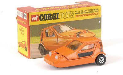 Mettoy Corgi Toys No.389 Reliant Bond Bug 700 ES 1971-74