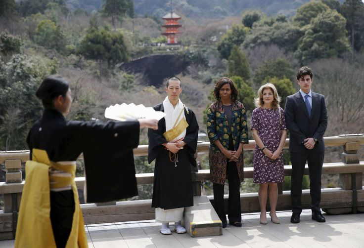 Rise and Shine: The First Lady in Japan | The Obama Diary