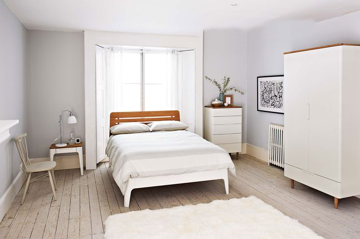 Stunning Scandinavian Style Interior Design By White Bed ...