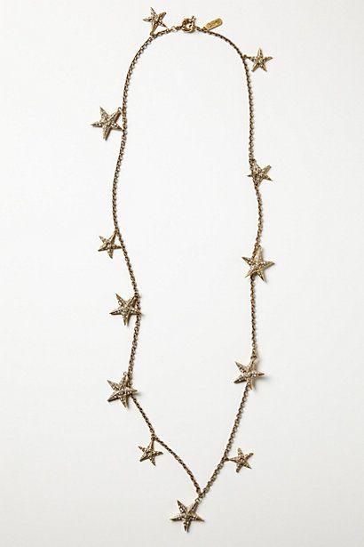 Twinkling Stars Strand #anthropologie