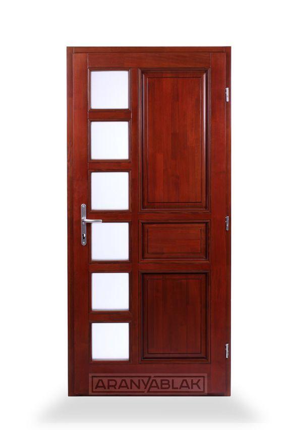 Rubin. Fa bejárati ajtó.  Biztonságot hoz minden otthonba. Igen tartós, hosszú távú megoldás, mindezt magas minőségen, és kedvező áron. Egyedi méretben is.
