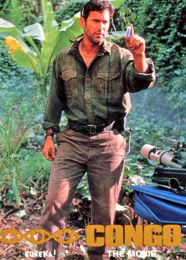 Bruce Campbell - Congo | Bruce Campbell ? | Pinterest