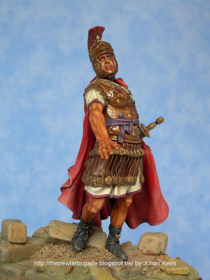 Roman Consul - II Century BC Pegaso Models 90 mm Handpainted by Johan Kees