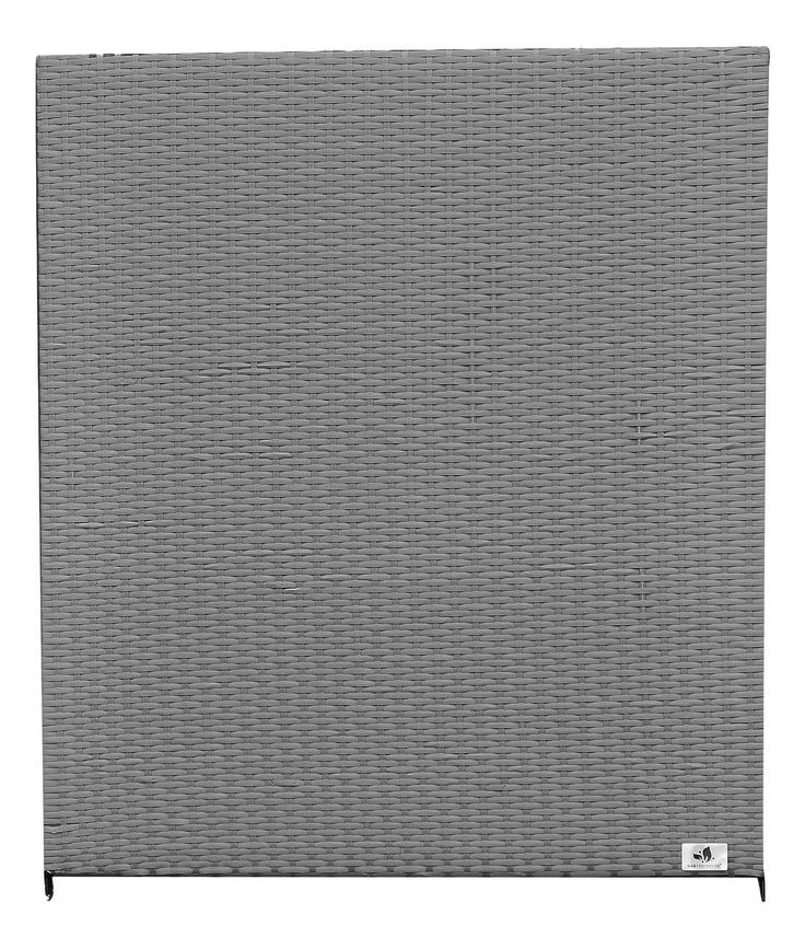 Gartenfreude Polyrattan Fence Element Aluminium Frame Grey, 80X4X90cm Weather-Proof Two-Layer Weave, 2550, 312-1007056 *** Check this awesome product by going to the link at the image. (This is an affiliate link) #GardenFurnitureandAccessories