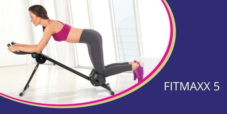 Aparatul pentru fitness FitMaxx 5 te scapa de chilogramele in plus si iti modeleaza corpul cu un antrenament de doar 5 minute pe zi. Vezi pret si review.
