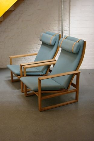 Borge Mogensen Lounge Chairs