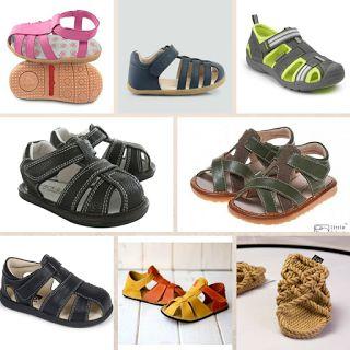 V pavučině: Barefoot sandály pro děti