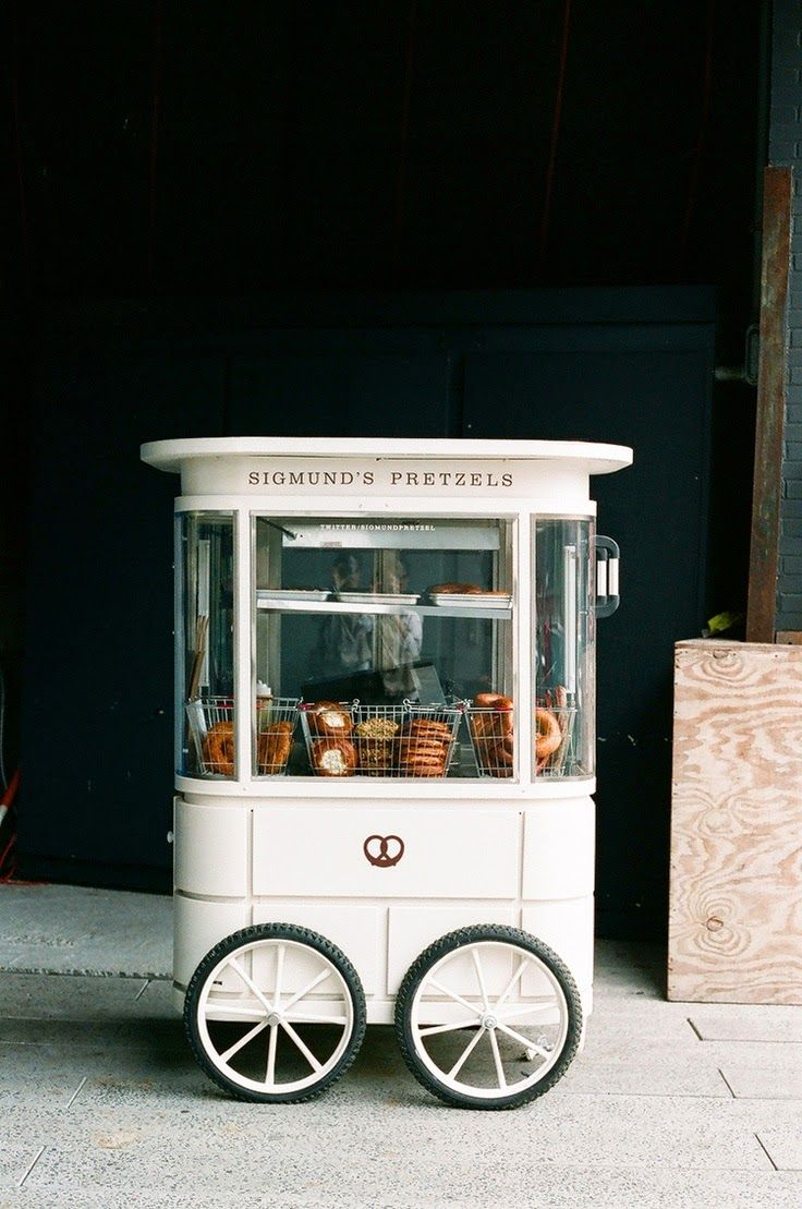 Pretzel Cart // mobile #foodtruck