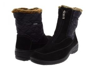 ara Maeko GORE-TEX (Black Synthetic Suede w/ Fabric) Women's Waterproof Boots