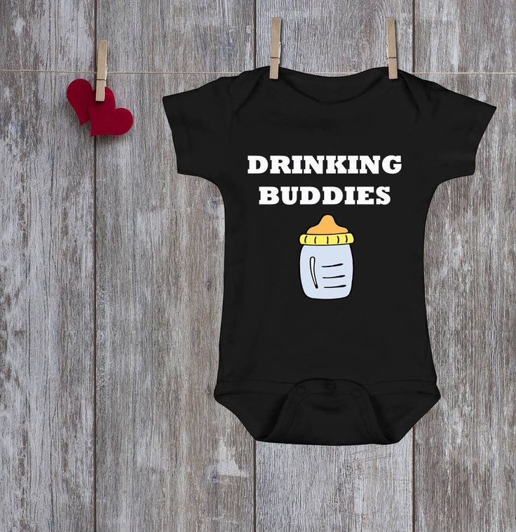 Excited to share the latest addition to my #etsy shop: DAD and SON shirts Daddy Baby Shirt Dad and son matching shirts Father Daughter Matching Shirts Family matching Drinking Buddies Black shirt http://etsy.me/2CAaDmg #clothing #shirt #black #housewarming #christmas #
