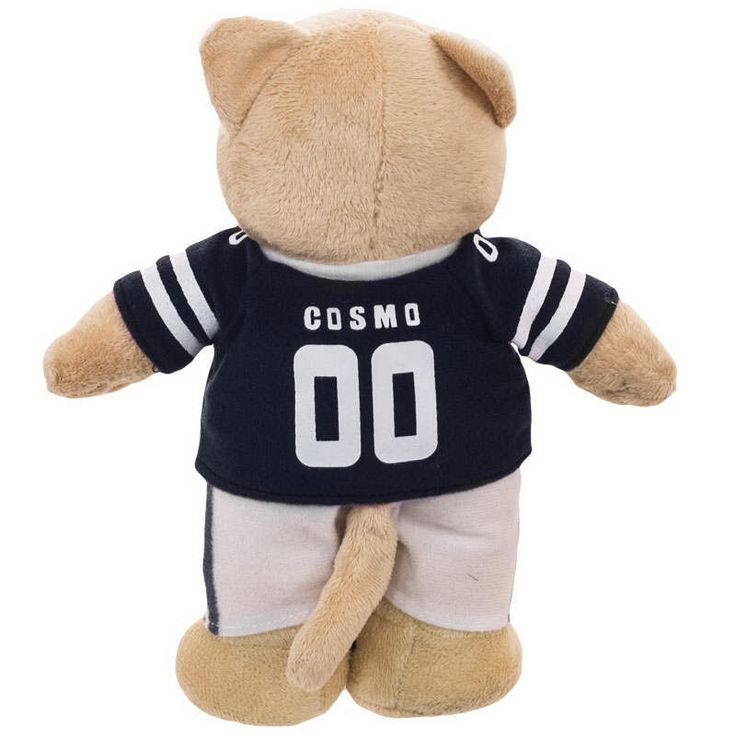 """BYU Cosmo Cougar Plush (10"""") - View 1"""