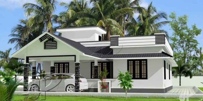 Classy 3 Bedroom Single Story Home With Roof Deck Pinoy House Designs Pinoy House Designs Beautiful House Plans Kerala House Design One Storey House