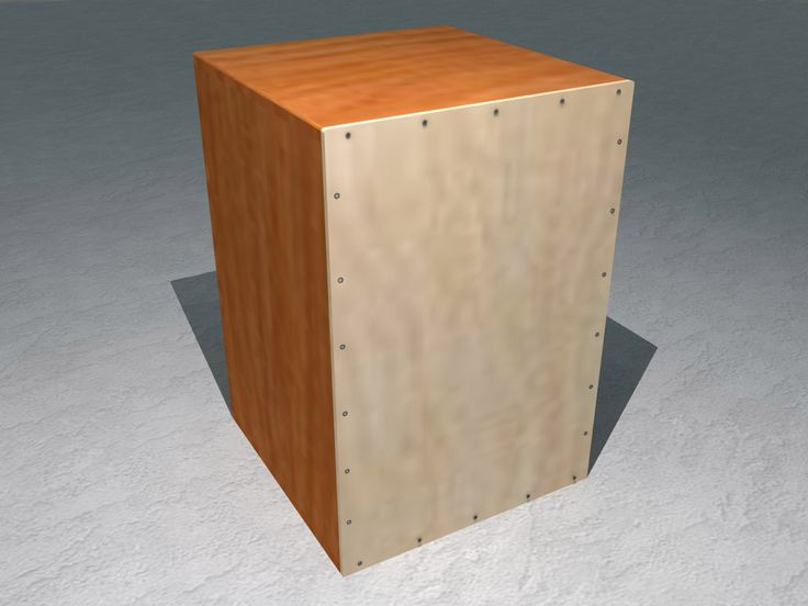 how to build a drum box