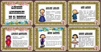 Día Internacional de la Mujer. Mujeres destacas de la historia  Portada