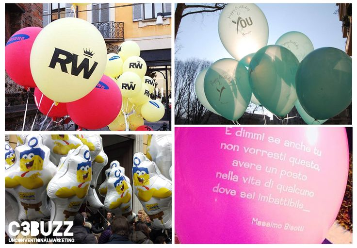#balloons #guerrillamarketing