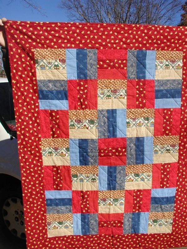 Easy Quilt Patterns Rail Fence : 17 Best images about Quilts - Rail Fence Blocks on Pinterest Easy patterns, Scrappy quilts and ...