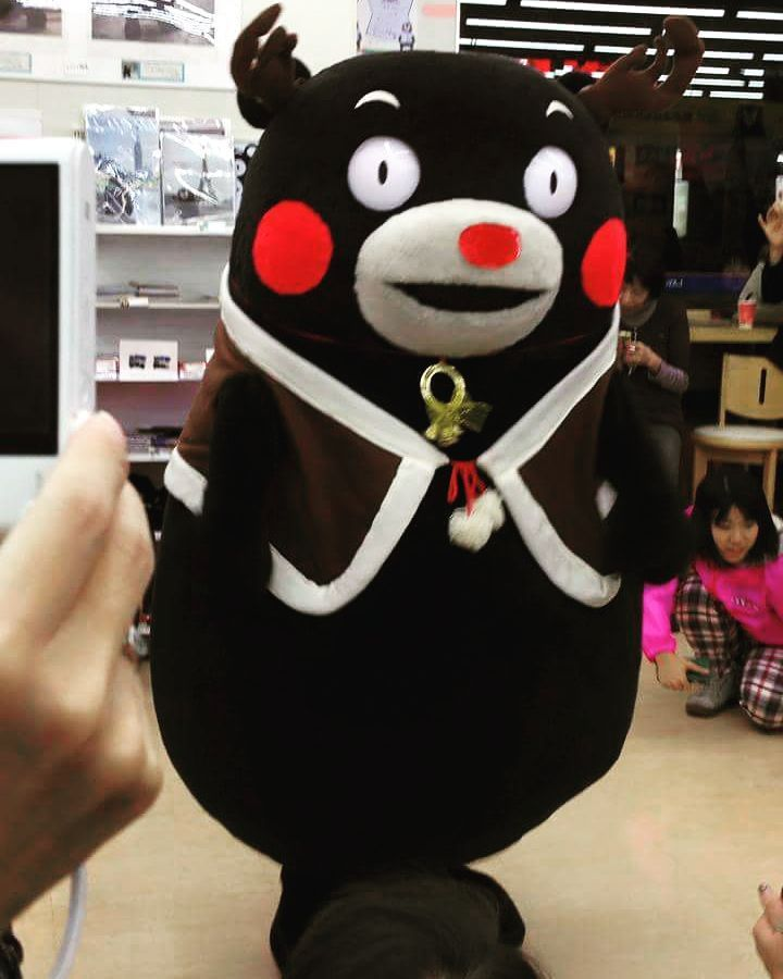 #kumamon#kumamonthailand#kumamonland#kumamoto#mascot#JAPAN#kwaii#cute#happy#bear#คมะมง#christmas#santa#lawson by aum_nitinun