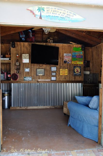 Tin Shed Man Cave : Best images about bar shed on pinterest backyards