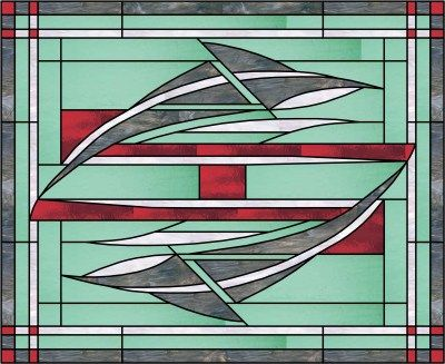 17 Best Images About Geometric Amp Abstract Stained Glass