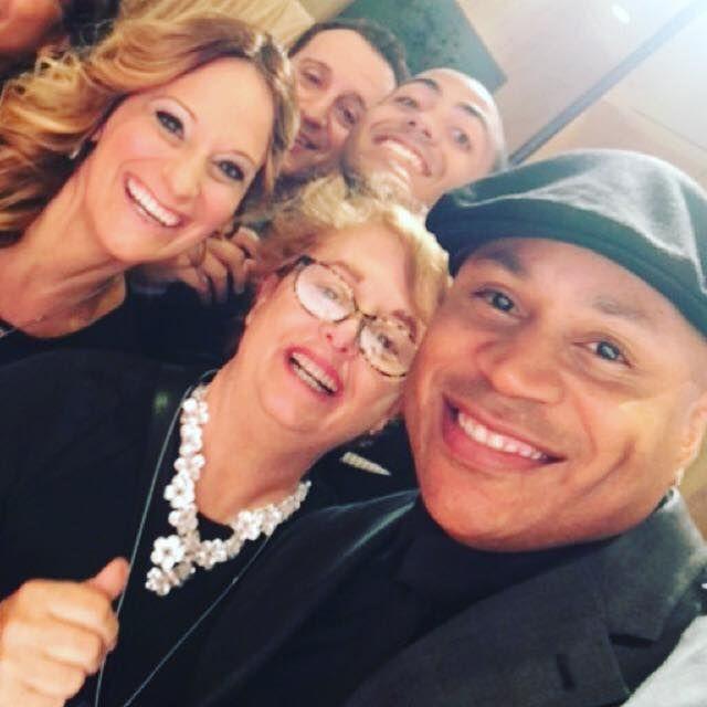 Group Selfie with LLCoolJ - EraseMS 2016