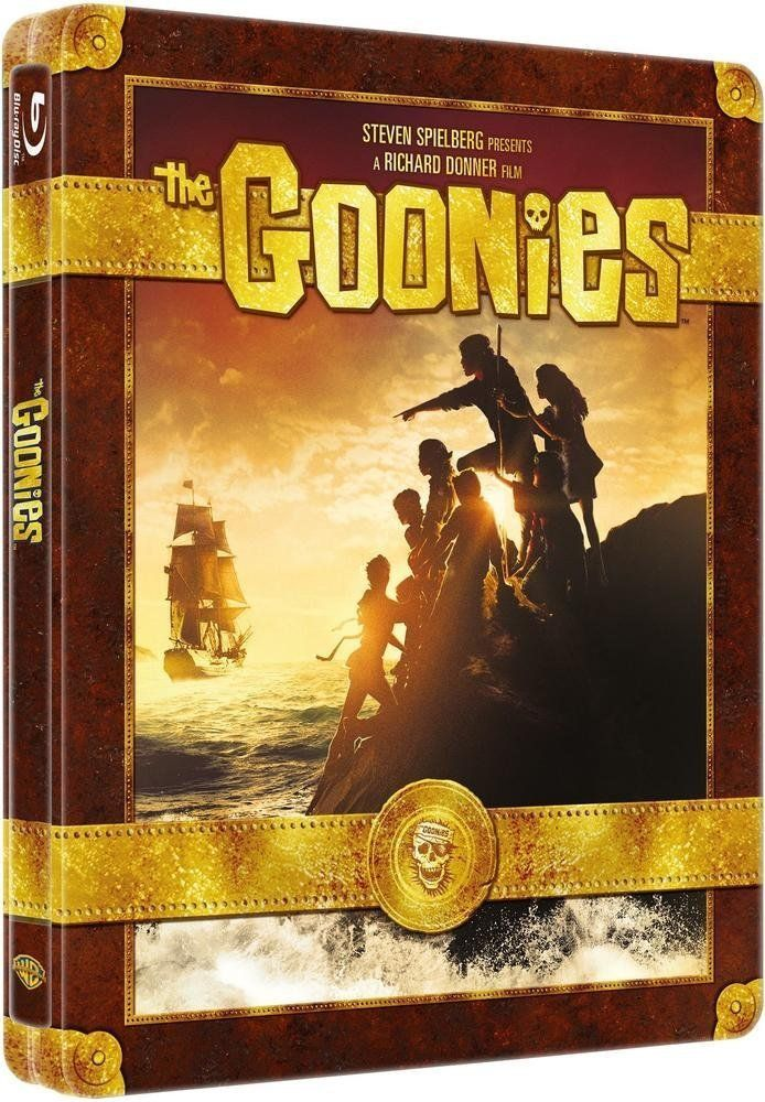 The Goonies (1985) Les Goonies Blu-ray + Copie digitale - Édition boîtier SteelBook: Amazon.fr: Sean Astin, Josh Brolin, John Matuszak, Jeff Cohen, Corey Feldman, Martha Plimpton, Jonathan Ke Quan, Kerri Green, Joe Pantoliano, Robert Davi, Anne Ramsey, Richard Donner: DVD & Blu-ray #steelbook