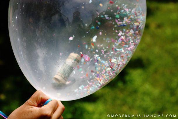 Eid Money Balloons | ModernMuslimHome.com