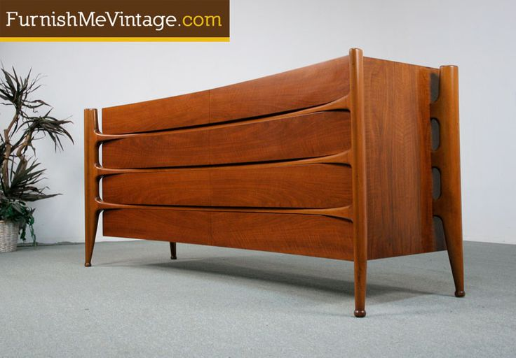 Spectacular Mid Century Modern Edmund Spence Dresser