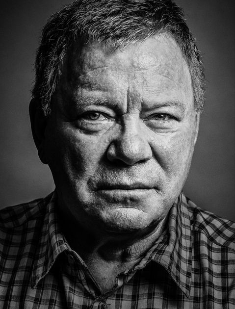William Shatner (1931) - Canadian actor, musician, singer, author, film director, spokesman and comedian. Photo by Andy Gotts
