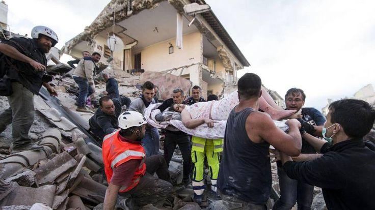 Registradas unas 160 réplicas tras terremoto de 6 grados en centro de Italia