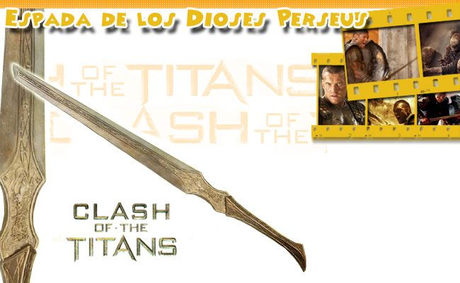 Espada de Los Dioses  Perseo (Furia de Titanes)