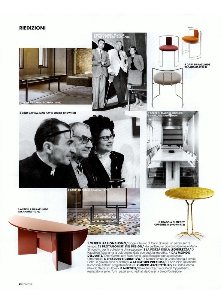 Cassina presents SimonCollezione on Elle Decor