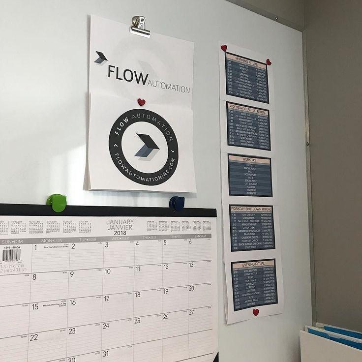 Spent my morning planning for some 2018 magic! #rebrand #rebranding #newbiz #newbusiness #entrepreneur #infusionsoft #marketing #leadgeneration #automation #flowautomation #leadflow #dailyschedule #calendar #planning #goals #dreams #girlboss #ladyboss #onlinebusiness #businesswoman #salesfunnels #expert #bigthings