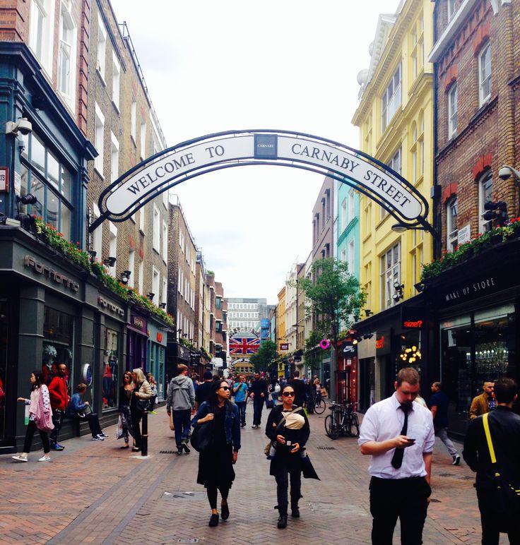 KINSA in London - Carnaby Street