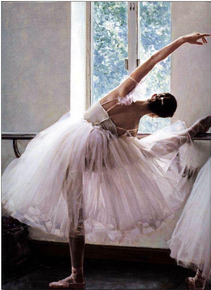 Image detail for -Ballet oil painting, Ballet Oil Painting, Oil paintings of ballet ...