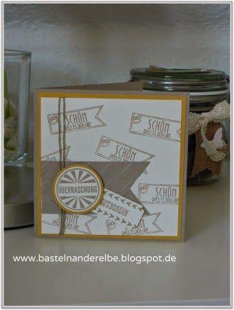 basteln an der Elbe, Stampin` Up!, Geburtstagskracher, Geburtstagskarte, birthday card