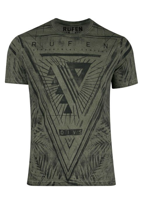 RUFEN - LEAF PRINT GRAPHIC TEE