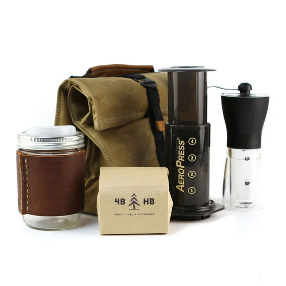 Deluxe Travel Coffee Kit   Huckberry