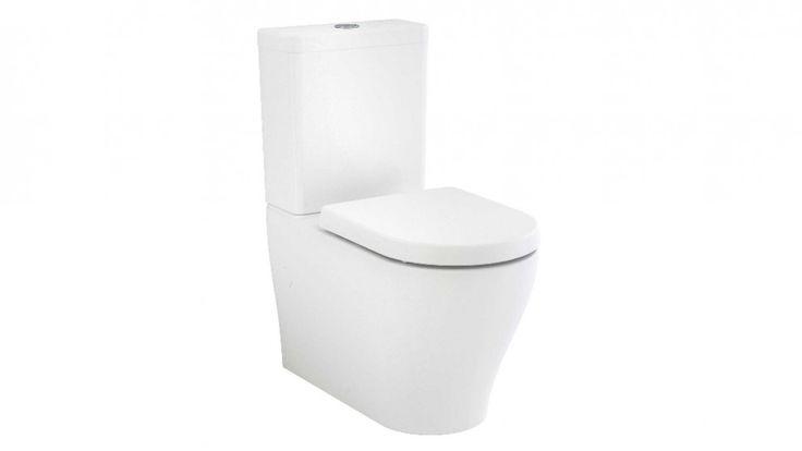 $489 Caroma Luna Back to Wall Toilet Suite - Back Entry - Toilet Suites - Baths & Toilets - Bathroom, Tiles & Renovations | Harvey Norman Australia
