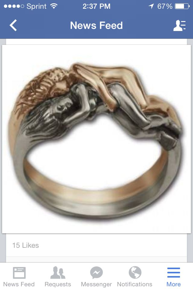 How the thumb ring became so gay