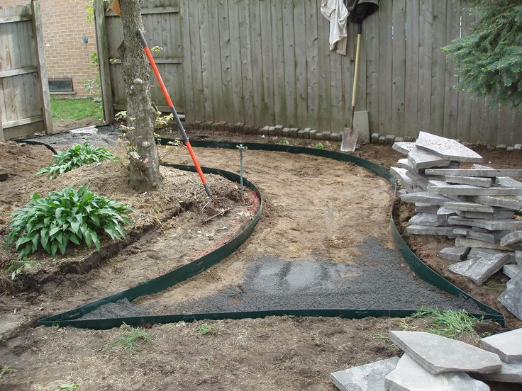 Grassless backyard landscaping ideas create your own for Landscape design your own home
