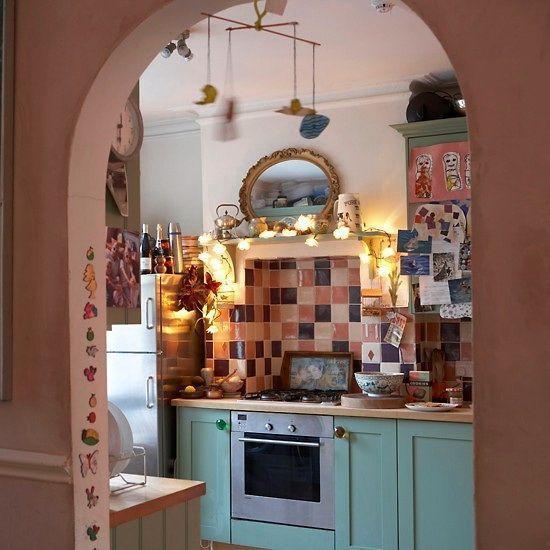 stile bohémien cucina